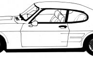 Black And White Car Drawings  20 High Resolution Wallpaper