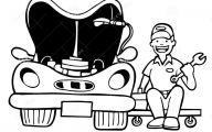 Black And White Car Drawings  9 Desktop Wallpaper