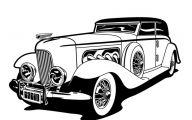 Black And White Cars  52 Desktop Wallpaper