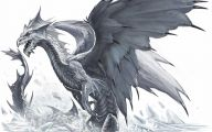 Black And White Images Of Dragons  13 Hd Wallpaper