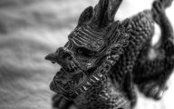 Black And White Images Of Dragons  27 Widescreen Wallpaper