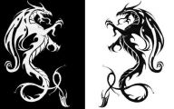 Black And White Images Of Dragons  28 Cool Wallpaper