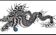 Black And White Images Of Dragons  9 Hd Wallpaper
