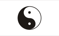 Black And White Yin And Yang  20 Background Wallpaper