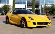 Black And Yellow Ferrari 10 Hd Wallpaper