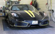 Black And Yellow Ferrari 30 Wide Wallpaper