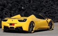 Black And Yellow Ferrari 35 Cool Wallpaper