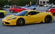 Black And Yellow Ferrari 40 Cool Wallpaper