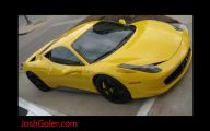 Black And Yellow Ferrari 5 Hd Wallpaper