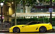 Black And Yellow Ferrari 6 High Resolution Wallpaper