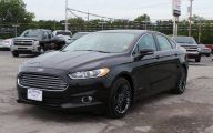 Black Ford Fusion  12 Wide Wallpaper