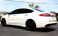 Black Ford Fusion  15 Cool Wallpaper