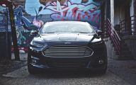 Black Ford Fusion  23 Wide Wallpaper