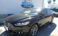 Black Ford Fusion  31 Wide Wallpaper