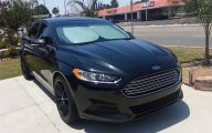 Black Ford Fusion  35 Free Wallpaper