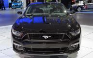 Black Ford Mustang  10 Background Wallpaper