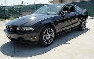 Black Ford Mustang  18 Widescreen Wallpaper