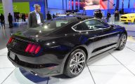 Black Ford Mustang  21 Widescreen Wallpaper