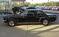 Black Ford Mustang  3 Cool Hd Wallpaper