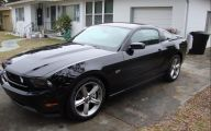 Black Ford Mustang  8 Free Hd Wallpaper
