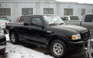 Black Ford Ranger 4X4  8 Wide Wallpaper