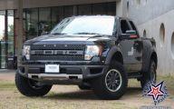 Black Ford Raptor  28 Background Wallpaper