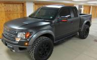 Black Ford Raptor  35 Background