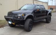 Black Ford Raptor  4 Free Wallpaper