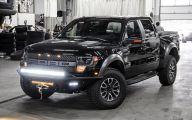 Black Ford Raptor  7 High Resolution Wallpaper