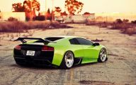 Green And Black Lamborghini Wallpaper 24 Desktop Background