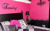 Pink And Black Bedrooms  2 Hd Wallpaper