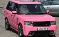 Pink And Black Exotic Cars 1 Background Wallpaper