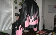 Pink And Black Leather Jacket  11 Free Wallpaper
