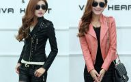 Pink And Black Leather Jacket  12 Widescreen Wallpaper