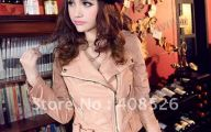 Pink And Black Leather Jacket  2 Background