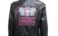 Pink And Black Leather Jacket  7 Desktop Background