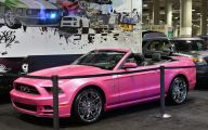 Pink And Black Mustang Wallpaper 1 Free Hd Wallpaper