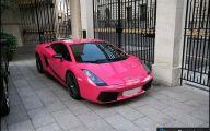 Pink And Black Race Cars 5 Desktop Wallpaper