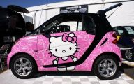 Pink And Black Sports Cars 1 Background