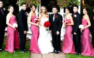 Pink And Black Wedding Theme  12 Widescreen Wallpaper