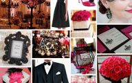 Pink And Black Wedding Theme  2 Free Wallpaper