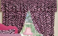 Pink And Black Zebra Shower Curtain  23 High Resolution Wallpaper