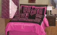 Pink And Black Zebra Shower Curtain  7 Hd Wallpaper