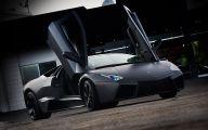 Plain Black Lamborghini Wallpaper 6 Desktop Background