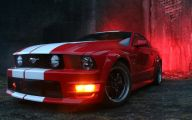 Red And Black Mustang Wallpaper 1 High Resolution Wallpaper