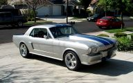 Silver And Black Mustang Wallpaper 3 Widescreen Wallpaper