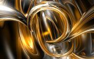 Black And Gold Art Wallpaper 1 Desktop Background