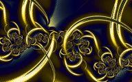 Black And Gold Art Wallpaper 5 Desktop Background