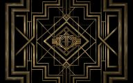 Black And Gold Paintings 4 Wide Wallpaper