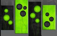 Black And Green Paintings 10 Hd Wallpaper